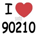 I heart 90210 White T-Shirt