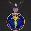 Navy Corpsman Women's Long Sleeve Dark T-Shirt