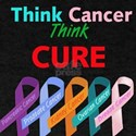 Think Cancer, Think CURE T-Shirt