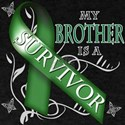 My Brother is a Survivor (green) T-Shirt