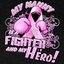 My Nanny Is A Fighter And My Hero T-Shirt