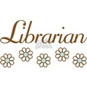 Librarian (daisy) Women's T-Shirt