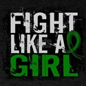 Licensed Fight Like a Girl 31.8 Liver T-Shirt