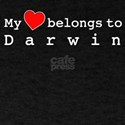 My Heart Belongs To Darwin T-Shirt