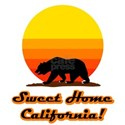 Sweet Home California White T-Shirt
