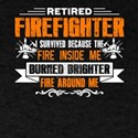 Retired Firefighter Tee Shirts T-Shirt