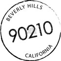 90210 Beverly Hills CA White T-Shirt
