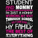 Student And Mommy T Shirt T-Shirt