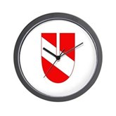 Scuba Flag Letter U Wall Clock