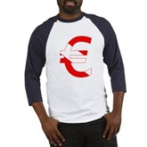 Scuba Flag Euro Sign Baseball Jersey