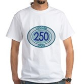 250 Logged Dives White T-Shirt