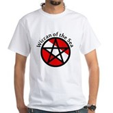 Wiccan of the Sea White T-Shirt