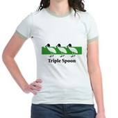 Triple Spoon Jr. Ringer T-Shirt