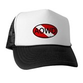 AOWD Oval Dive Flag Trucker Hat