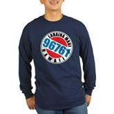 Lahaina Maui 96761 Long Sleeve Dark T-Shirt