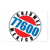 Cozumel Mexico 77600 Postcards (Package of 8)