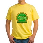 Nitrox Diver 2009 Yellow T-Shirt
