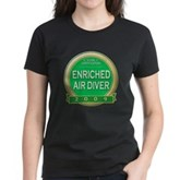 Nitrox Diver 2009 Women's Dark T-Shirt