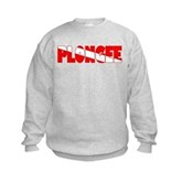 Plongee French Scuba Flag Kids Sweatshirt