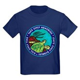 Take Only Memories (turtle) Kids Dark T-Shirt