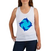 Dolphin Ring Women's Tank Top