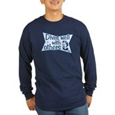 Dives Well With Others Long Sleeve Dark T-Shirt