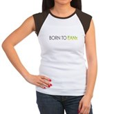 Born to EANx Nitrox Diver Women's Cap Sleeve Tee